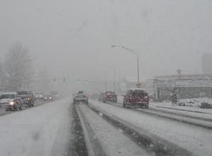 Snow street scenes