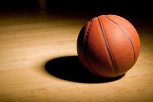 basketball in the spotlight
